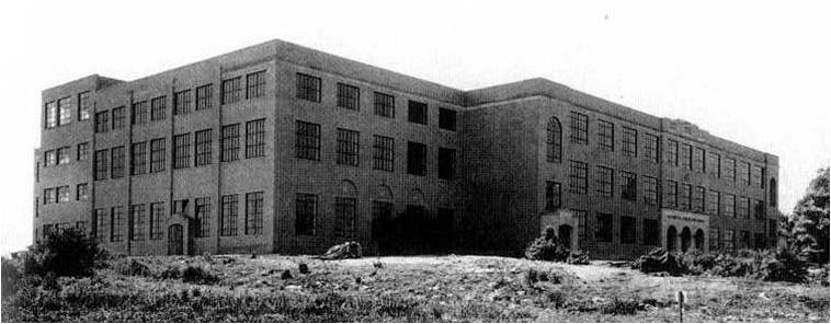 Greenville Senior High School in 1936
